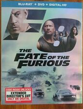 The Fate of the Furious (Blu-ray/DVD, Includes Digital Copy)