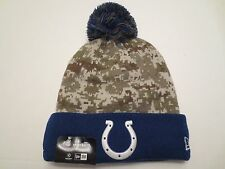 NEW ERA NFL15 STS SPORT KNIT CAP HAT INDIANAPOLIS COLTS CAMO BEANIE