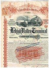 Lehigh Valley Terminal Rwy. Co., 1891, 1000 $ Gold Bond