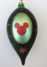 DISNEY PARKS RETRO MICKEY MOUSE ICON TEARDROP CHRISTMAS ORNAMENT NWT