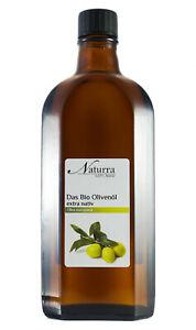 (7,18€/100ml) Bio Olivenöl nativ extra kaltgepresst unraffiniert 250ml Glas kba