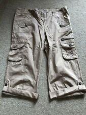 Super PaPaya  Beige Trousers Size 14 100% Cotton New