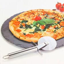 Tagliere Piatto Pizza 30cm in Ardesia con Rotella Taglia Pizze e Decorazione