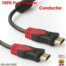 3M 10FT HDMI Cable/Cord/Lead v1.4 3D High Speed with Ethernet HEC Full HD 1080p