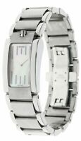 MOVADO Elliptica Quartz SS Mother Of Pearl Dial Women's Watch 0605020