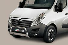 Vauxhall Movano Bull Bar Nudge A-Bar 2010+ 63mm Steel Chrome EC APPROVED