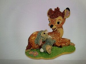 Disney Bambi and Thumper Figurine by Arribas  Limited Edition 2000