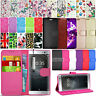 For Sony Xperia XA2 H3113 H3123 H4113 Leather Wallet Case Cover + Screen Guard