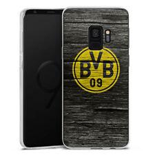 Samsung Galaxy S9 Silikon Hülle Case - BVB Holzoptik