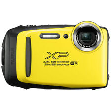 Fujifilm FinePix XP140 Waterproof Digital Camera 16.4MP, Yellow