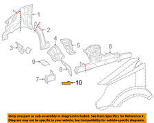 MERCEDES OEM 10-17 Sprinter 2500 FENDER-Side Reinforcement Right 9066370135