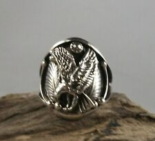 Sterling Silver Eagle Ring, size 13