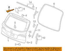 HONDA OEM 16-18 Pilot Liftgate Tailgate Hatch-Hinge Cover Left 74885TG7A11