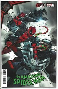 King In Black Spider-Man #1 Cover B Deadpool 30th Variant New/Unread/Bag/Board