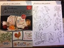 Aunt Martha's Embroidery Iron On Transfers~ Kitchen Designs