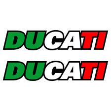 Stickers DUCATI ITALIA Monster Strada Diavel Hypermotard - 17cm x 3cm