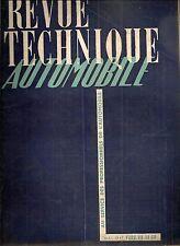 REVUE TECHNIQUE AUTOMOBILE 37 RTA 1949 ETUDE FORD V8 BERLIET 7T