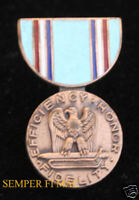 US AIR FORCE GOOD CONDUCT MEDAL LAPEL HAT PIN UP USAF ENLISTED OFFICER RIBBON