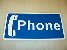PHONE Metal Sign 6x12