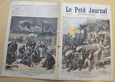 Le petit journal 1893 159 brigandage en italie gravure tempête à Calais