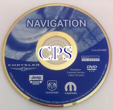 2003 2004 2005 Chrysler Town Country & Pacifica Touring Navigation DVD Map 033AB