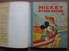 MICKEY ET SON NAVIRE  (1948) dessins de Walt DISNEY