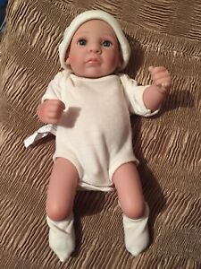 "UK 11""  REBORN DOLL FULL VINYL NEWBORN LIFELIKE REALISTIC BABY BOY"