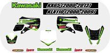 NEW KAWASAKI KX65 00-13/KLX110 00-09 STICKER KIT - MOTORCROSS - DIRTBIKE