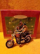 Hallmark Keepsake Harley-Davidson Barbie Collectors Series Xmass Ornament