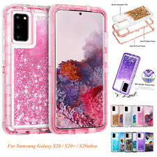 For Samsung Galaxy Note 20 5G S20 S10 S9 S8 Girls Bling Defender Case Back Cover