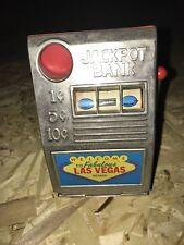 Vintage Metal Slot Machine Mechanical Jackpot Bank Las Vegas Nevada