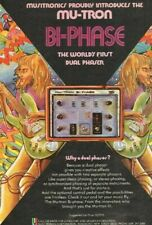 1976 Mu-Tron Bi-Phase - the world's first dual phaser - Vintage Ad