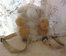 Langs Sheep/lamb backpack for child, small soft strong cuddly and cute