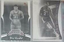 Unseld/Baylor/Olajuwon(sticker)/Phil Jackson/Havlicek LOT 5 cards