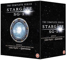 Stargate SG-1 - Complete Season 1-10 plus The Ark of Truth/ Continuum  [DVD], DV
