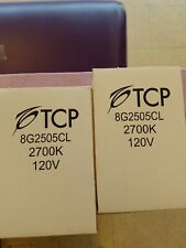 New 2Pc Tcp 8T03Cl 3W 120V Compact Fluorescent Lamp