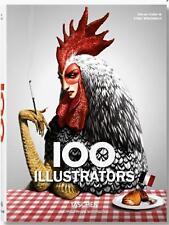 100 ILLUSTRATORS ~ HELLER & WIEDEMANN Taschen PROFUSELY ILLUSTRATED ~ NEW ~ HC