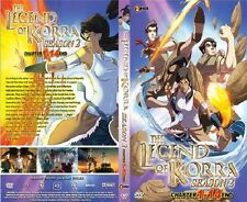 DVD AVATAR THE LEGEND OF KORRA SEASON 2 VOL.1-14 END