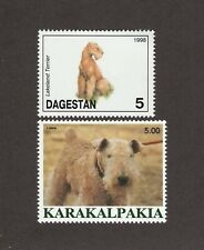 Lakeand Terrrier * Int'l Postage Stamp Art Collection *Great Gift Idea*