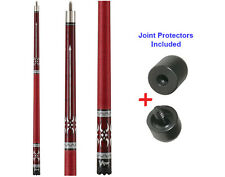 Viper Sinister 50-1353 Pool Cue Stick 18-21 oz & Joint Protectors
