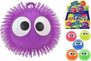 Large Big Eye Puffer Squeezy Ball Tactile Fidget Toy Sensory Toy 6 Colours NEW