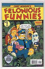 Chief Wiggum's Felonious Funnies Issue #1 Bongo Comics (1st Print 2018)