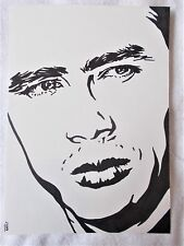 A4 Bolígrafo Marcador De Arte Dibujo James Dean actor Cartel