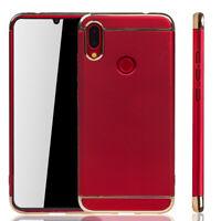 Xiaomi Redmi Note 7 Étui Coque pour Portable Sac de Protection Bumper Rouge