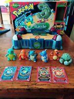 Pokemon Battle Stadium ThinkChip Playset 1998 Nintendo Working(click video) RARE