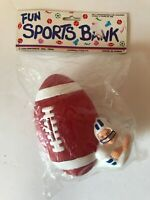 Vintage Colorforce Fun Sports Bank Football Plastic Colts New NOS