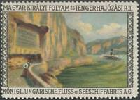 Budapest: Reklamemarke Ungarische Fluss Seeschifffahrtsgesellschaft AG 430730