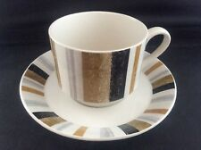 Vintage 1960's Mid Century Modern Midwinter Queensberry Coffee Can Cup & Saucer
