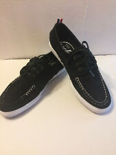 Diamond Supply Co. Mens Black Yacht Club Boat Shoes Suede Size 9.5