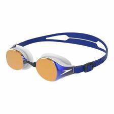 Speedo Swimming Goggle - Hydropure Mirror Goggle -  Blue/White/Gold Mirror